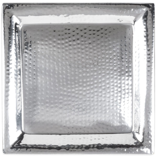 Hammered Square Tray 7106