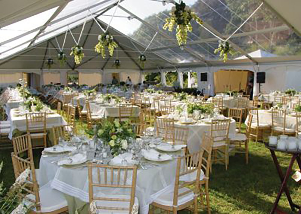 Clear Top Tents | Party Line Rentals